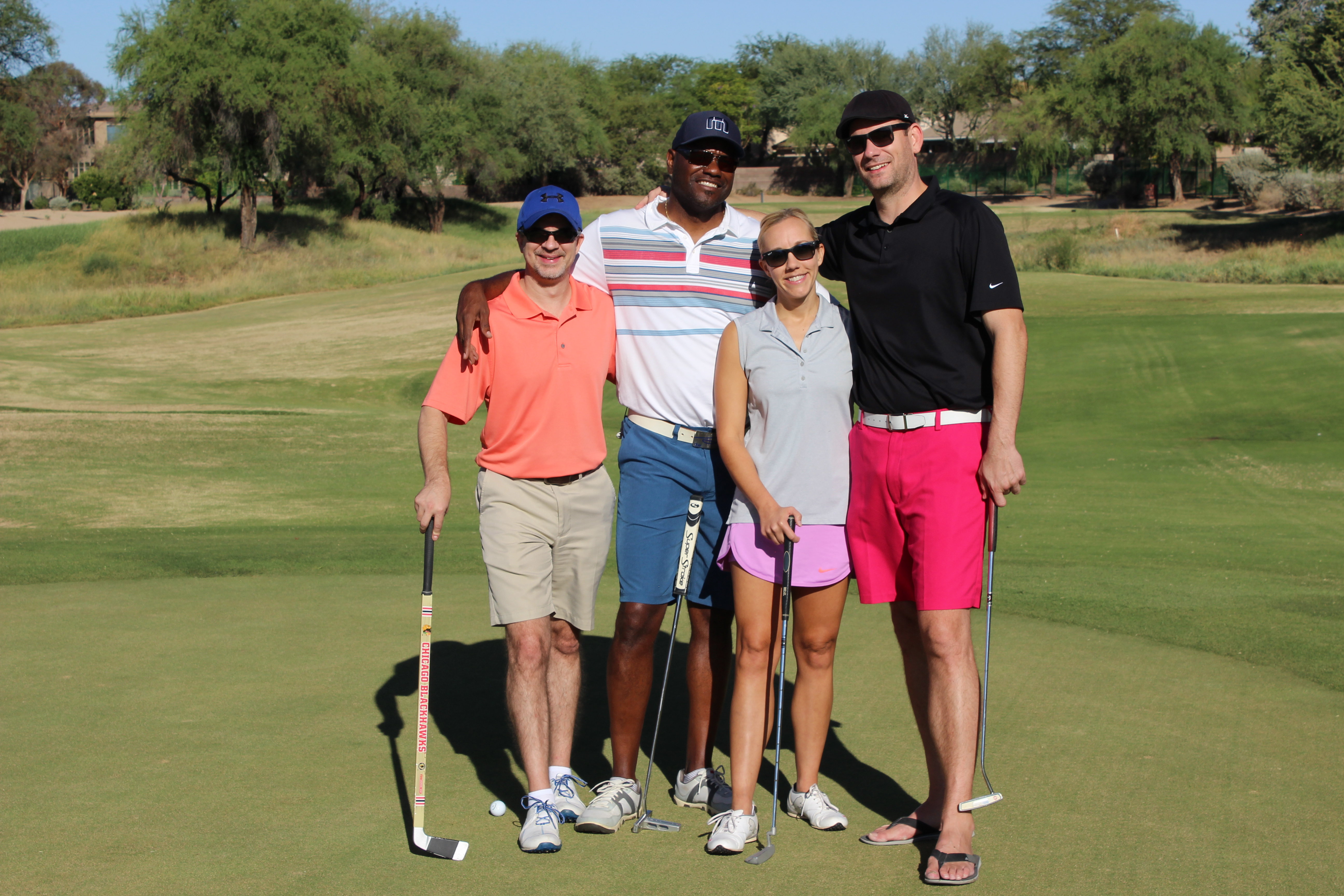 Fat Guys In Shorts Golf Tournament